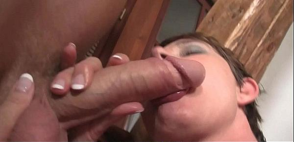 Hairy old pussy motherinlaw rides his big cock