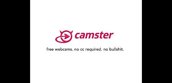 CAMSTER - Luscious Latin Cam Girl with Tongue Ring Waiting For You
