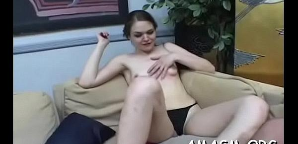 Adult females face sitting man in wicked femdom porn show