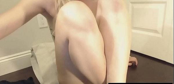 White girl in black dress licking her own pussy MFC(liveusacams.com)