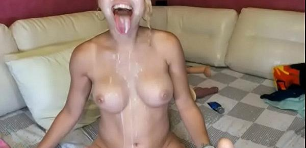 Candylisa taking it to the Nexy Level Part 2    big tits webcam