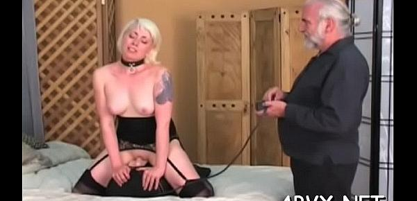 Top fetish bondage porn with girls on fire addicted to dong