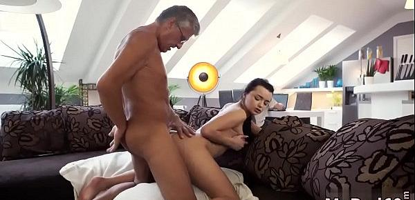 Red head fucks old man What would you prefer - computer or your