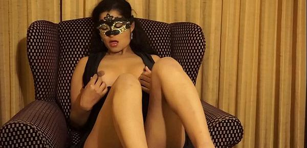 Maya Rati Gets Naked for costume Party
