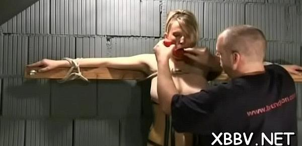 Girl plays along guy&039;s desires in pointer sisters torture sex scenes