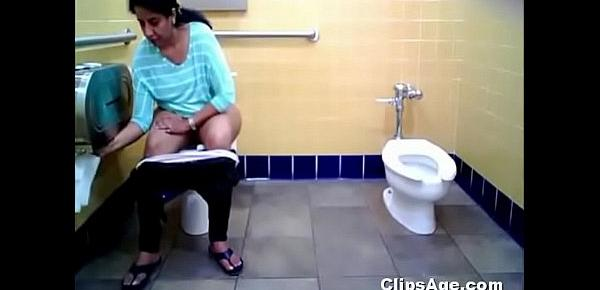 Public toilet hidden camera