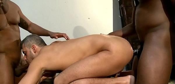 Ebony army offices ass fuck prisoner