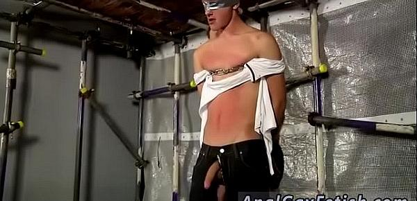Bondage men comic gay New Boy Brodie Wanked And Fed