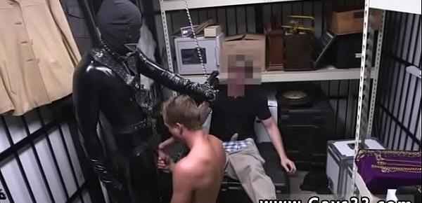 Bare naked hunks tube and gay gang sex Dungeon sir with a gimp