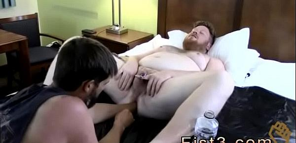 Fisting gay sex Sky Works Brock&039;s Hole with his Fist