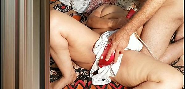Mohini cumed in her huge pussy