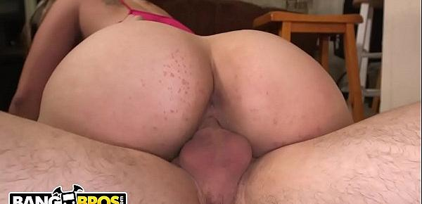 BANGBROS - Carmen Ross Gets Her Latin Big Ass Fucked By Brick Danger and Peter Green