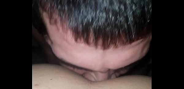 Hubby Eats My Ass Just Right