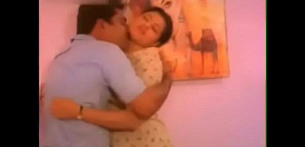 Malayalam actress&039;s hot big boobs pressing and squeezing and sucking and liplock