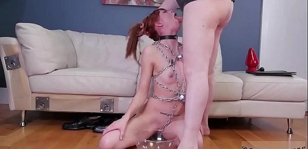 Teen bondage machine and spanish bdsm Slavemouth Alexa