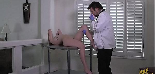 Natalie&039;s Checkup - The Pervert Doctor
