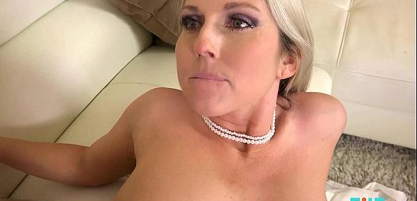 FILF - Hot Blonde MILF Fucked By Her Son&039;s Friend