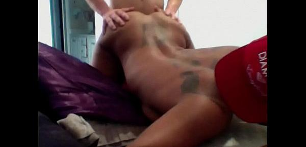 black girl with sexy body fucking white dick