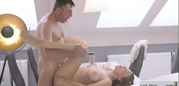 Sex and daddy molest anal Old clever gentleman with a youthful
