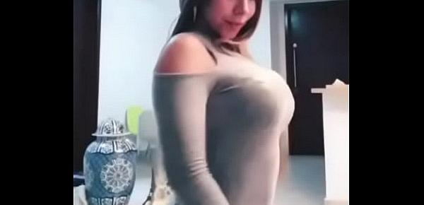 Hot dance big boobs and ass