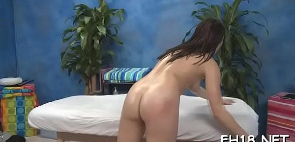 Hot chick plays with rod then gets nailed hard
