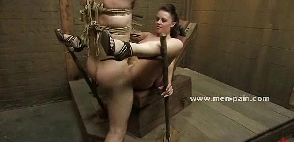 Cock teached how to bondage lessons