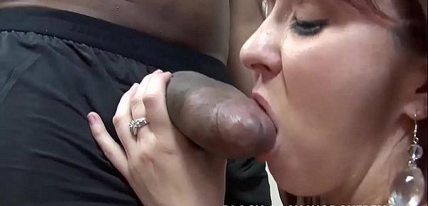 He is going to fill my ass full of big black cock