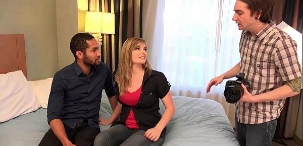 Cum Eating Cuckolds - Alice Nysm fucks a BBC in front of her hubby