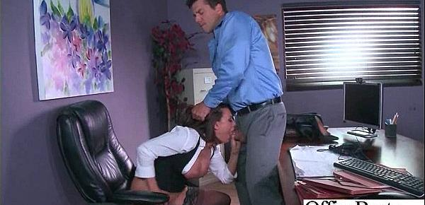 (Eva Angelina) Busty Sexy Office Girl Busy In Hard  Sex Act video-20