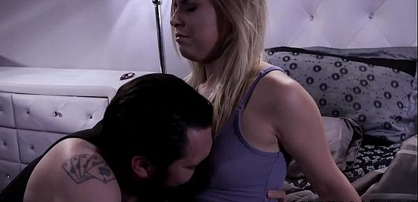 Deviant daddy wants the taste of stepdaughters hairy muff