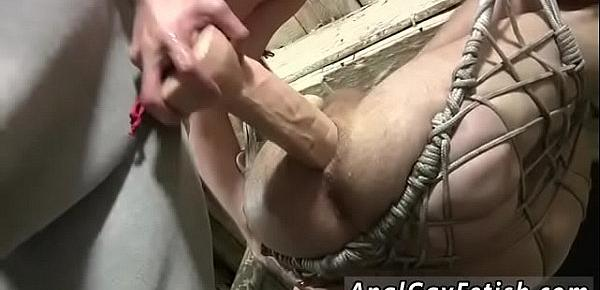 Gay boy bondage fuck movie Sling Sex For Dan Jenkins