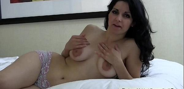 My big tits and sexy voice will make you cum so hard JOI