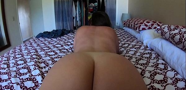 Big Booty PAWG Vanilla Cake Makes Cock Cum with Juicy Ass