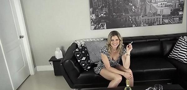 Fucking my troubled MILF stepmother to make her happy