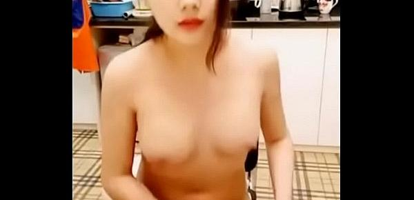 Chinese Art School Student Showing off herself 02