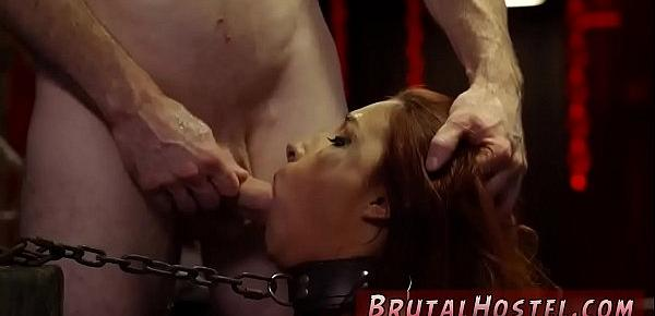 Bondage dungeon gangbang Poor little Jade Jantzen, she just wanted to
