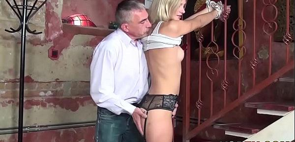 Fetish loving german mom