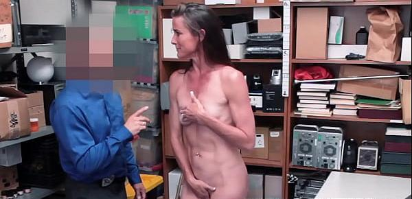 Handsome perp Sofie Marie pounded with big police dick