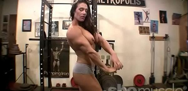 Woman masturbates fitness agree