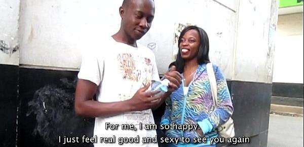 Real African Amateur Teens Wild Public Sex Tape