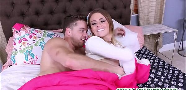Hot Blonde Virgin Teen Step Sister Alex Blake Orgasms While Getting Fucked By Step Brother