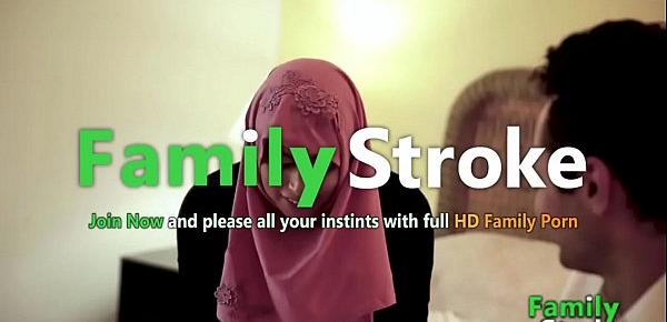 FamilyStroke.net - Hijab Teen and Bro&039;s Sex Relationship