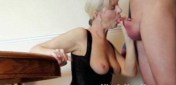 Sucking Toyboys Cock Before I Fuck Him To Send My Husband