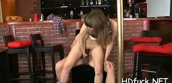 Beautiful babe enjoys hardcore sex and gives a priceless blowjob