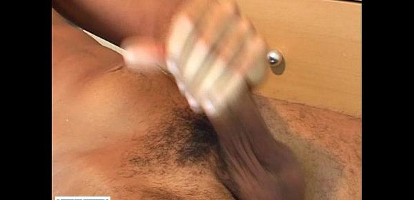 Full video Ilman a very sexy arab guy get wanked his huge cock by us