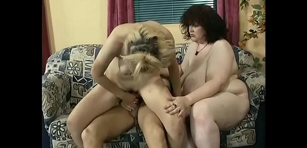 monster boob Milf picked for orgy