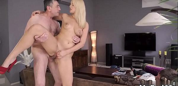 Old and young girl big milf s Sleepy guy missed how his father nails