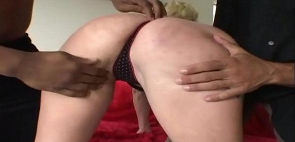 A blonde created to be fucked without mercy