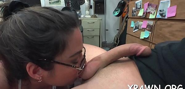 Beauty that loves dong is having loads of sex in shop