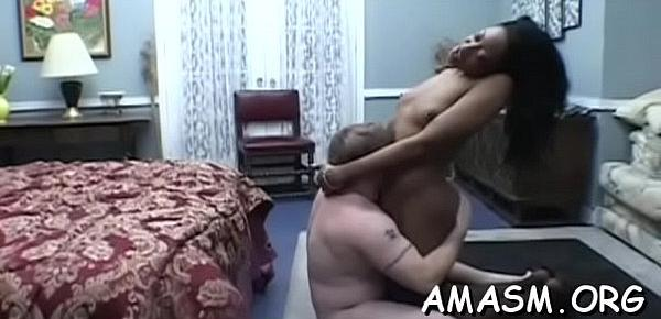 Sexy females using guy as their sex toy in femdom amateur movie scene